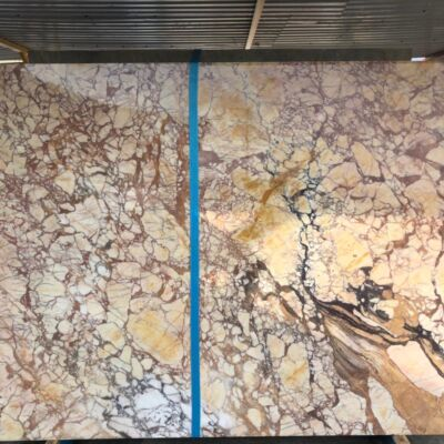 Giallo Siena Слэб из натурального камня (мрамор)