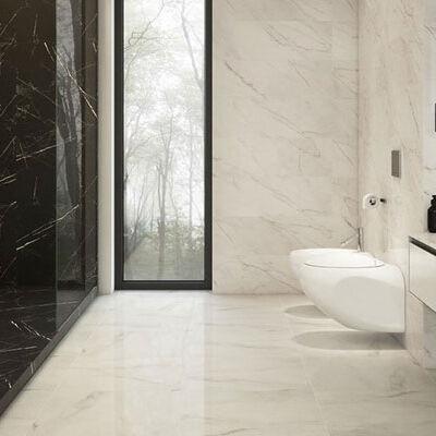 Купить плитку для ванной комнаты из мрамора. Характеристики изделий из природного камня