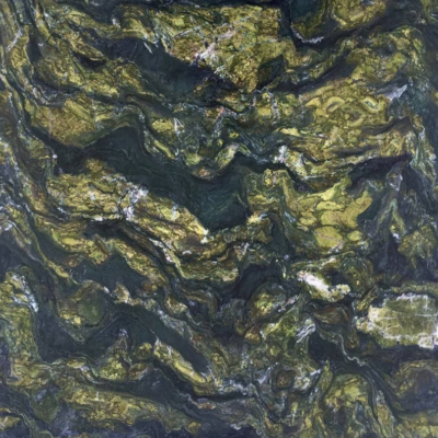 Verde Picasso Слэб из натурального камня (гранит)