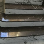 Использование в интерьере мрамора «Pietra Grey»